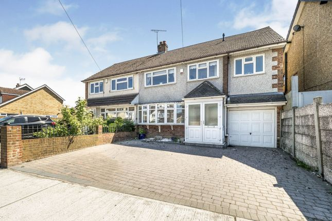Thumbnail Semi-detached house for sale in Essex Gardens, Hornchurch