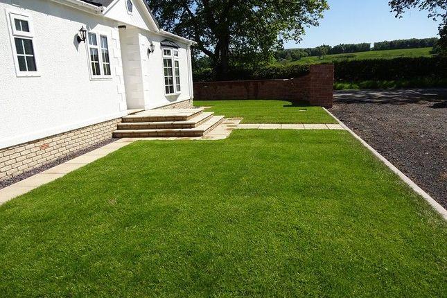 Front Garden of Dinwoodie Lodge Park Johnstonebridge, Lockerbie, Dumfriesshire. DG11