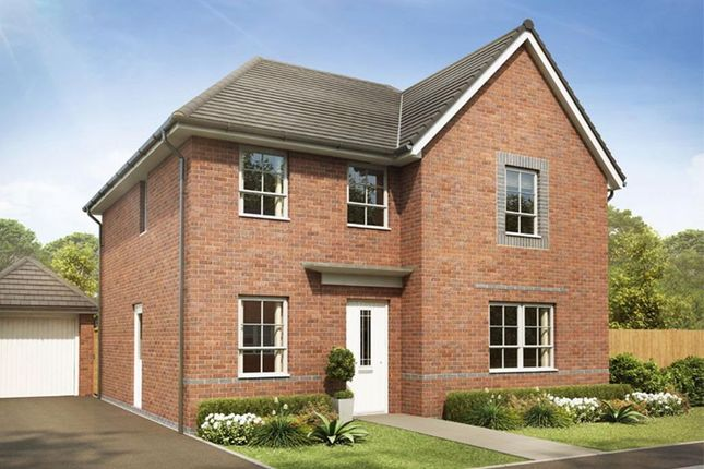 """Thumbnail Detached house for sale in """"Radleigh"""" at Pye Green Road, Hednesford, Cannock"""