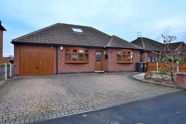 Thumbnail Detached bungalow for sale in Owen Avenue, Long Eaton, Nottingham
