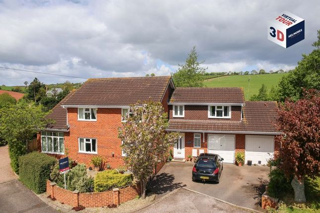Thumbnail Detached house for sale in Chapel Downs Drive, Crediton