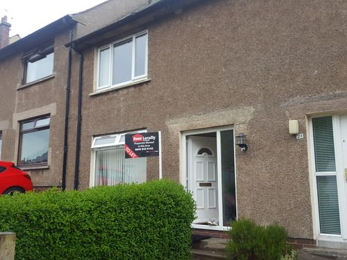 Thumbnail Terraced house to rent in Waverley Terrace, Stenhousemuir, Larbert