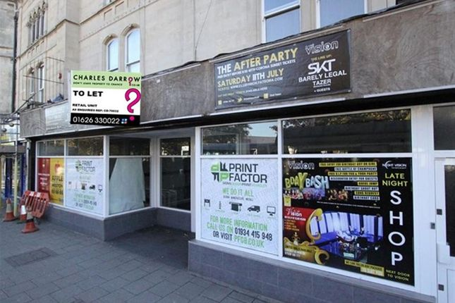 Thumbnail Retail premises to let in Prime Retail Space To Let BS23, Somerset