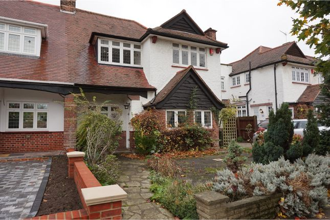 Thumbnail Semi-detached house for sale in The Close, London