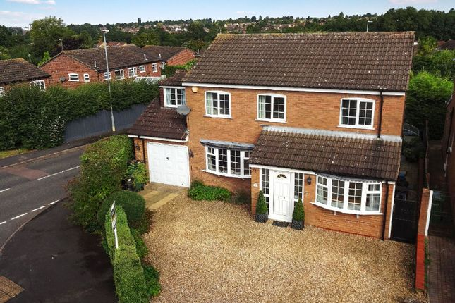 Thumbnail Detached house for sale in Berkeley Close, Oadby, Leicester