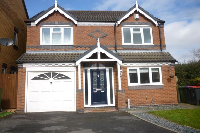 Thumbnail Detached house for sale in Lhen Close, Muxton, Telford