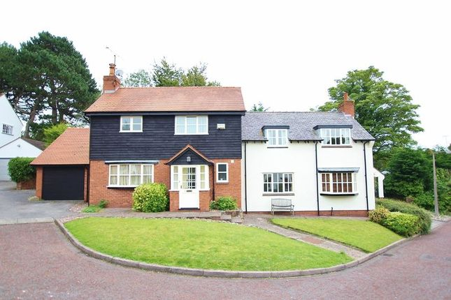 Exterior of Tithbarn Close, Lower Heswall, Wirral CH60