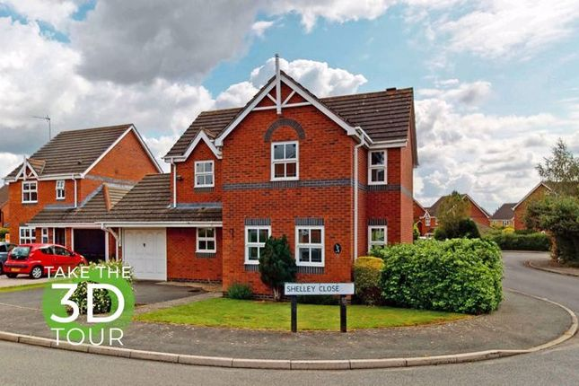 4 bed detached house for sale in Shelley Close, Stamford PE9