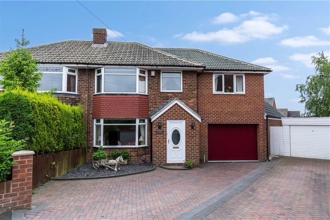 Thumbnail Semi-detached house for sale in Norgarth Close, Soothill, Batley