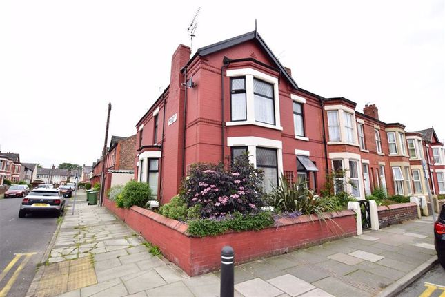 Thumbnail End terrace house for sale in Parkfield Drive, Wallasey, Merseyside