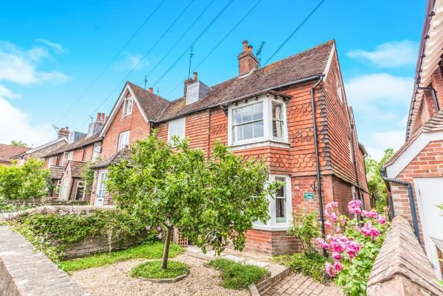 Thumbnail End terrace house for sale in High Street, Barcombe, Lewes, East Sussex
