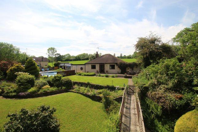 Thumbnail Detached bungalow for sale in Llanvair Kilgeddin, Abergavenny
