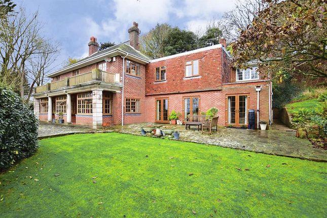 Thumbnail Detached house for sale in Sene Park, Hythe, Kent