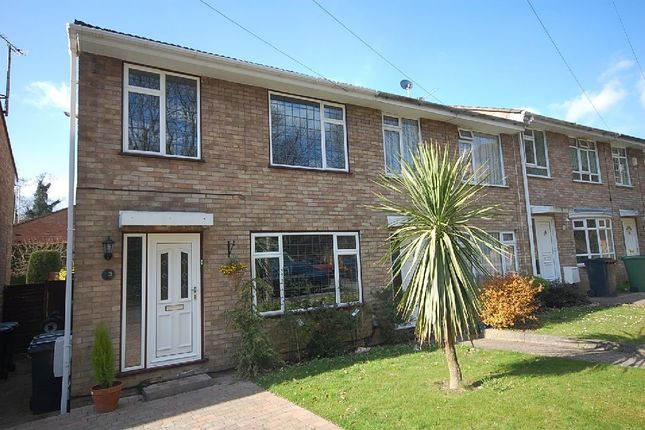 Thumbnail End terrace house to rent in Kestrel Close, Watford