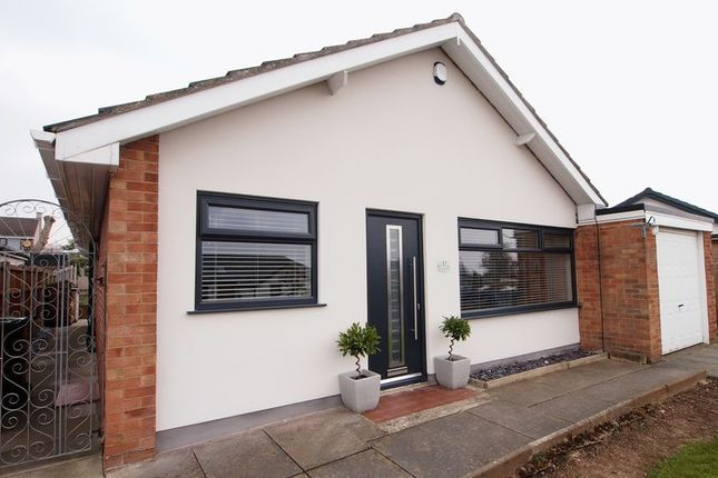 Thumbnail Detached bungalow for sale in Peacock Crescent, Hest Bank, Lancaster