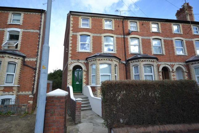 Thumbnail End terrace house to rent in Erleigh Road, Reading, Berkshire