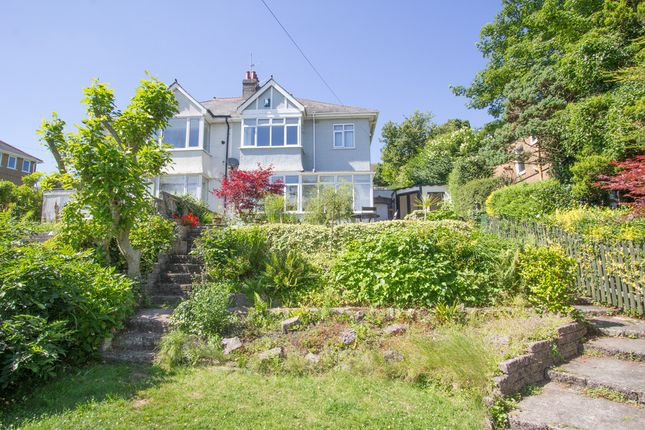 Thumbnail Semi-detached house for sale in Manor Lane, Crabtree, Plymouth