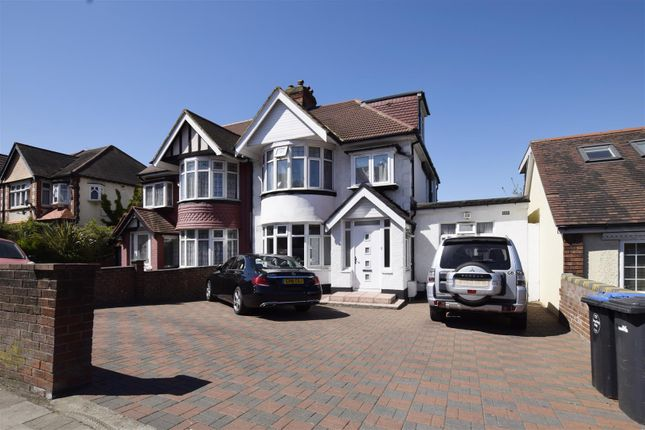 Thumbnail Semi-detached house for sale in Park Lane, Wembley