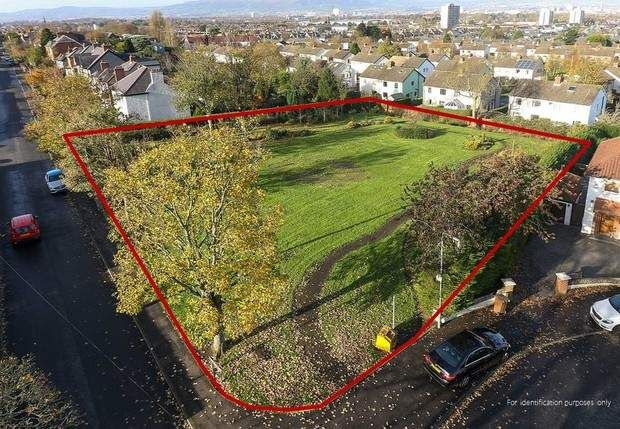 Thumbnail Land for sale in Site Adjoining 28 Cregagh Park, Belfast, County Antrim