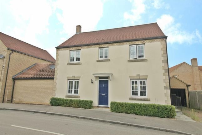 Thumbnail Detached house to rent in Brownset Drive, Kingsmead, Milton Keynes
