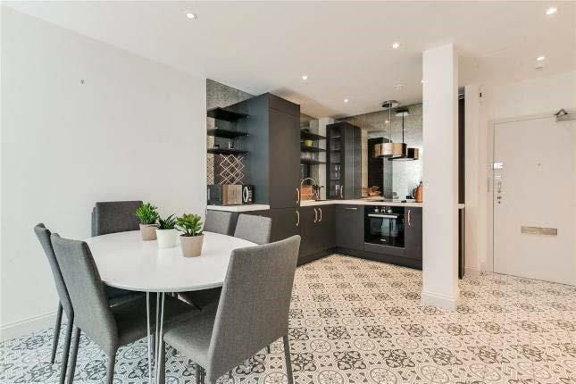Kitchen -Diner of 105 Marsham Street, Westminster, London SW1P