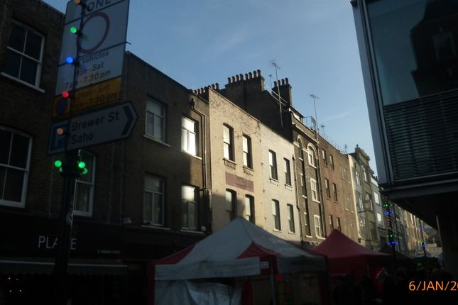 Thumbnail Block of flats for sale in Berwick Street, Soho