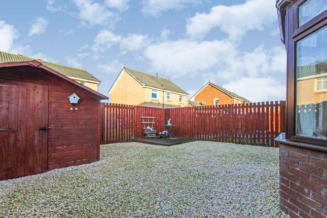 Rear Garden of Scylla Grove, Cove, Aberdeen AB12