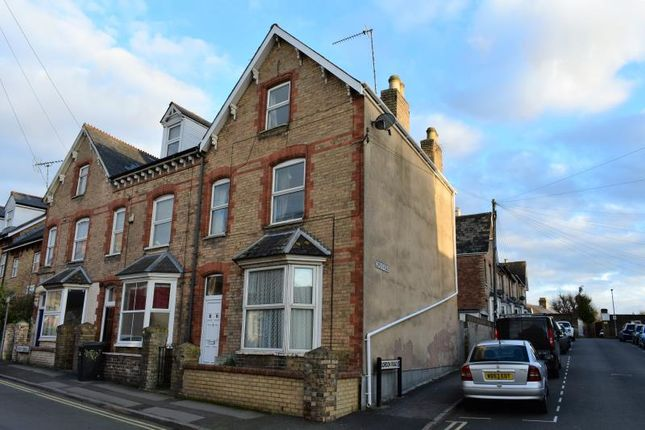 Thumbnail End terrace house for sale in Queen Street, Taunton, Somerset