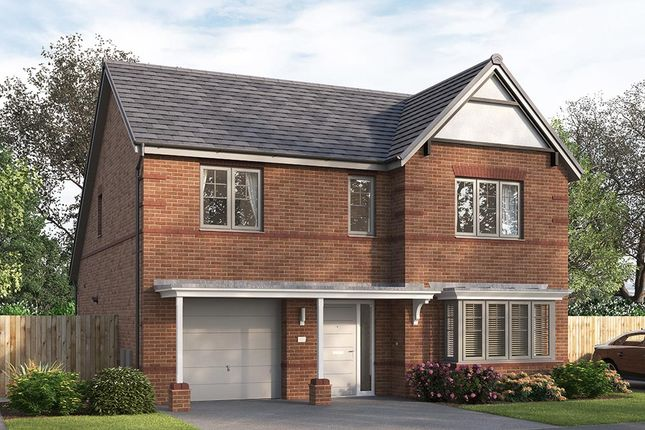 """Thumbnail Detached house for sale in """"The Overbury"""" at William Nadin Way, Swadlincote"""
