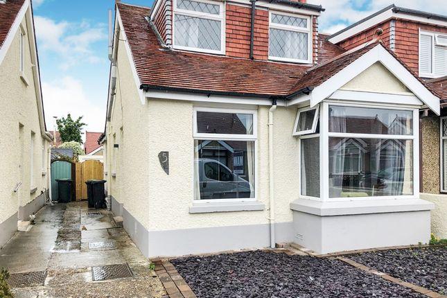 Thumbnail Semi-detached bungalow for sale in Arundel Road, Gosport