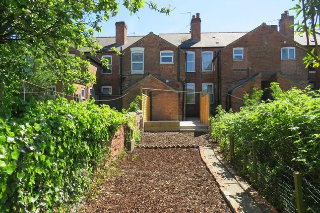 Thumbnail Terraced house to rent in Sutherland Road, Pear Tree, Derby