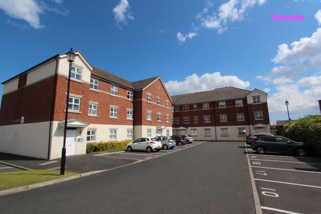Thumbnail Flat to rent in Woodburn Drive, Whitley Bay