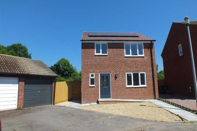 Thumbnail Detached house for sale in Phipps Close, Westbury, Wiltshire