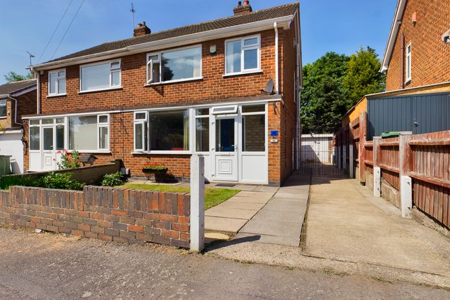3 bed semi-detached house for sale in Cumberwell Drive, Enderby, Leicester LE19