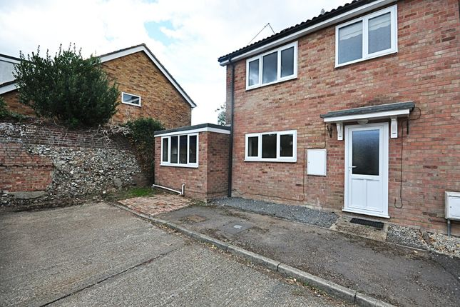 Thumbnail Semi-detached house for sale in Bailiwick Court, East Harling, Norwich