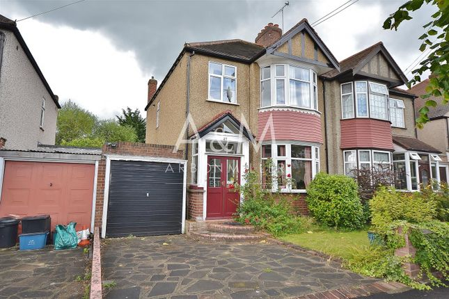 Thumbnail Semi-detached house for sale in Glenthorne Gardens, Ilford