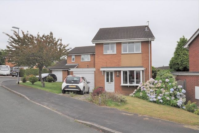 Thumbnail Detached house for sale in Ashdale Rise, Westbury Park, Newcastle, Staffs