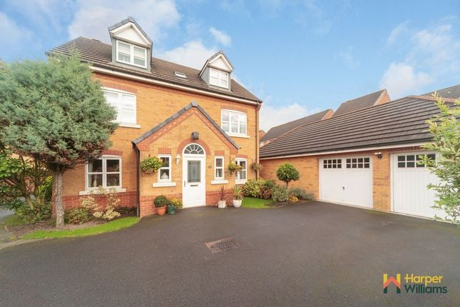 Thumbnail Detached house for sale in Montgomery Close, Great Sankey, Warrington