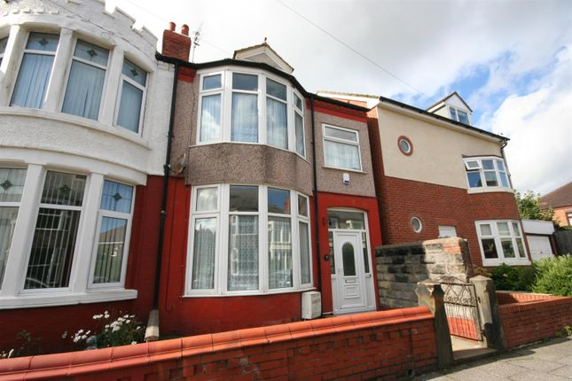 Thumbnail Terraced house to rent in Curzon Avenue, Wallasey