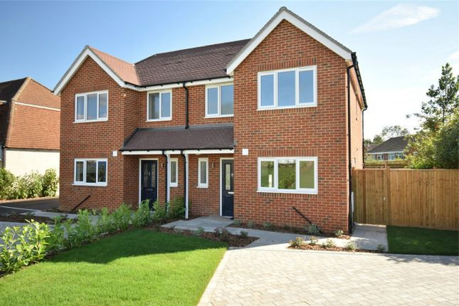Thumbnail Semi-detached house for sale in Dynes Road, Kemsing, Sevenoaks, Kent