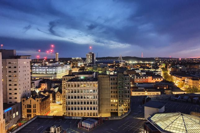 Thumbnail Penthouse for sale in Queen Street, Cardiff