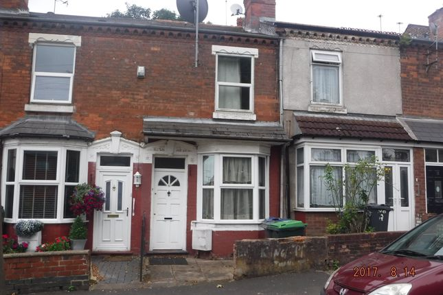 Thumbnail Terraced house for sale in Highfield Road, Birmingham