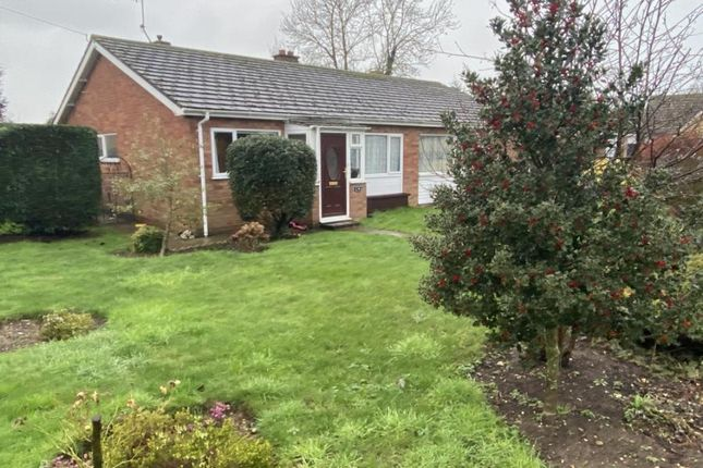 Thumbnail Bungalow for sale in Stowupland, Stowmarket, Suffolk