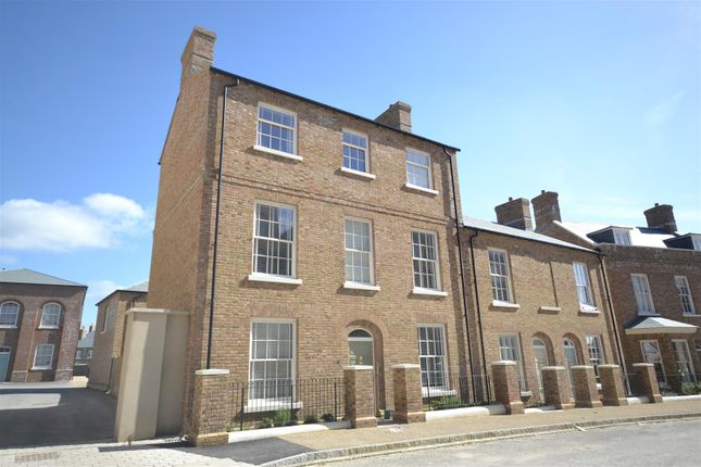 Thumbnail End terrace house for sale in Hamslade Street, Poundbury, Dorchester