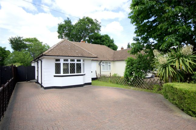 Thumbnail Semi-detached house for sale in Marley Close, Addlestone, Rowtown, Surrey