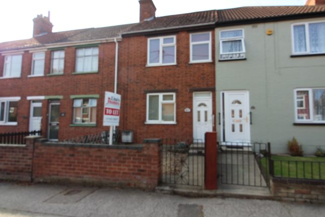 Thumbnail Terraced house to rent in Somerton Avenue, Lowestoft, Suffolk