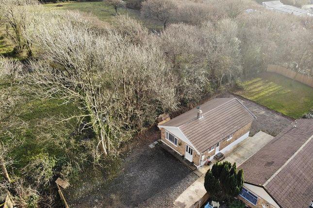 Thumbnail Detached bungalow for sale in Woodlands Park, Kenfig Hill, Bridgend, Bridgend County.