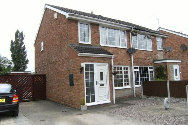 Thumbnail Semi-detached house to rent in Willow Drive, Hook, Goole