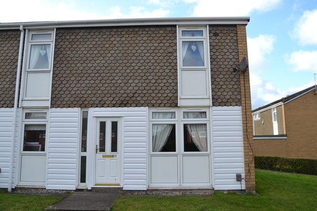 Thumbnail End terrace house to rent in Worthing Place, Longton, Stoke-On-Trent