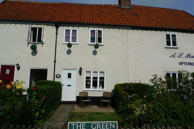 Thumbnail Cottage to rent in Calthorpe Cottages, The Green, Acle, Norwich